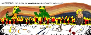 Mushiisms123: the sleep of girls produces monsters by mushisan