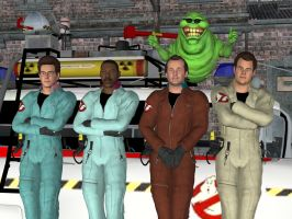 The Real Ghostbusters by knight217