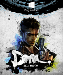 Devil May Cry 5 Icon by nemanjadmitrovic