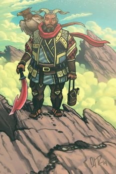 Mountaineer Paladin by dio-03