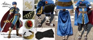 Marth cosplay by Aedes-cosplay