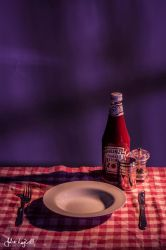 Still life with ketchup by glittercookie