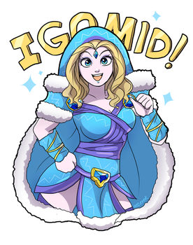 Crystal Maiden go MID! by keterok