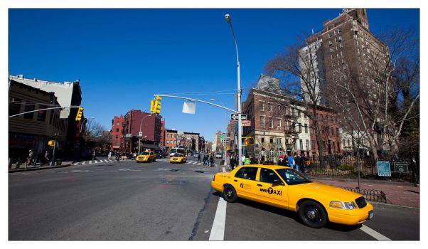 NYC Taxi by flemmens