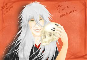 Who Is More Handsome? by Bruja6665