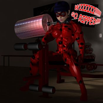 Ladybug - SO RIPPED by Hellequin11