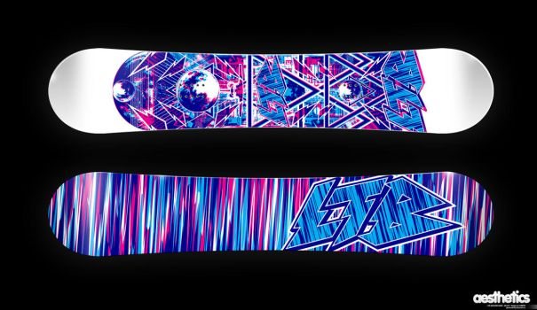 LTB SNOWBOARDS - space by KUBIZZZ