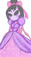 Princess Muffet~ by CupofSpiders