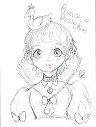 Princess of Duckingham , Frenchy le Duck V by VocariaxPierroxChan