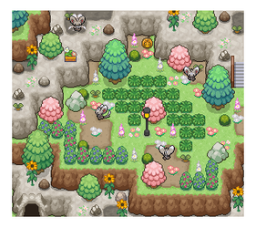 Unova Mini-Maps : 078, 079 by SimplyPixelizing