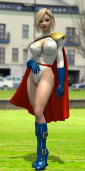 Power Girl by shadowblade316
