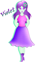 Violet by dalyladolly