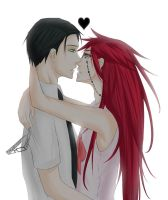 William and Grell by kuronyx