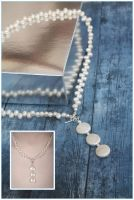 3-in-1 Pearl Necklace by Sarahorsomeone