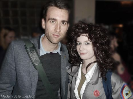 Ripley and Matthew Lewis (Neville Longbottom) by MasterCyclonis1