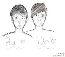 phan sketch -- Drawcember 11/16 by oh-no-Castiel