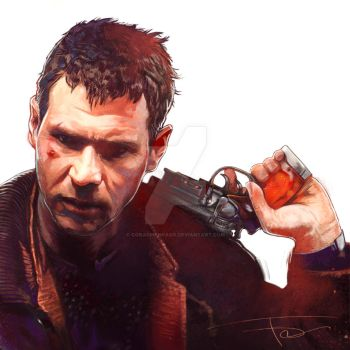 Deckard by corachanpaco