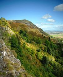 Dumyat, Stirling, Scotland by younghappy