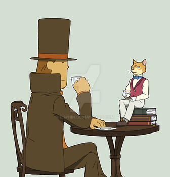 teatime by Luphin