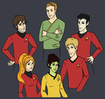Team Kirk by keljoy
