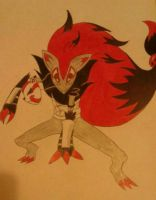 itachi as zoroark .2 by RikoriStorm