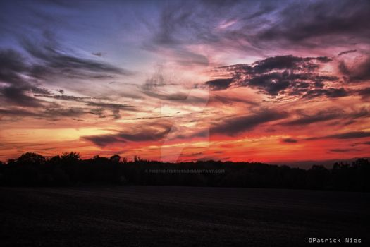 Sunset HDR by firefighter1993