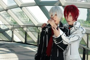 Vampire Knight - Zero x Shiki by Xeno-Photography