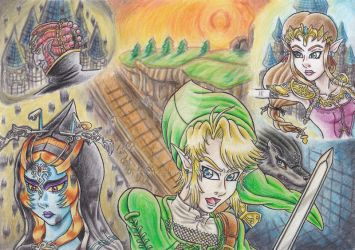 The Legend Of Zelda: Twilight Princess by BveanikaS