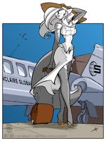 Jet set Chloe White by drag0nscythe
