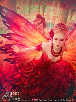 Julia The Rose Fairy [EX] by MarioWibisono