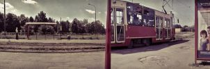 Magical Tram by daaram