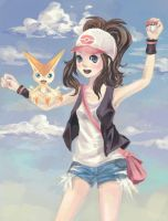 Pokemon: Touko and Victini