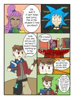 My Life as a blue haired sorceress page 24 by epic-agent-63