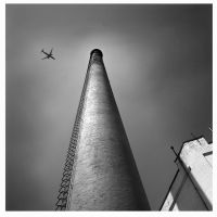 Flying Over the Factory by JoseMelim