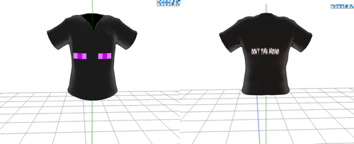 enderman shirt(NOW WITH DOWNLOAD) by Pixelated--Coffee