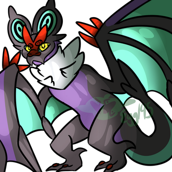 Hercules the Noivern by EggTheTalonflame145