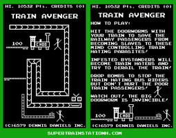 Train Avenger by SuperTrainStationH