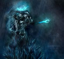 The Ice Witch by catmushrooms