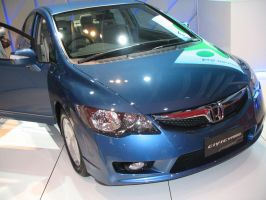 AIMS2010 - Honda Civic Hybrid by TricoloreOne77