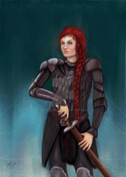 .::com::. Red Widow by GiovyLoCa