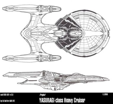 Ships of ASR-UFP-YASARUGI by GhostRider2007