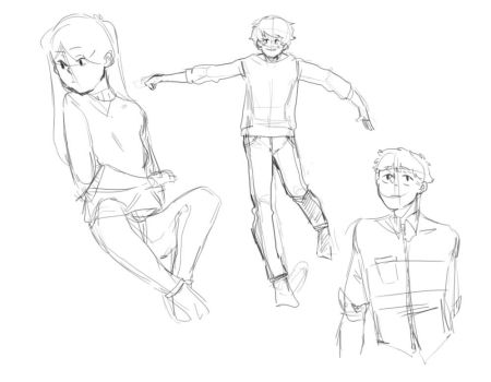 Pose Practice by teijou