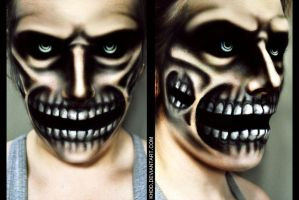 Makeup: Attack on Titan by Khdd