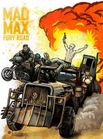 Mad Max - Fury Road by MaddRaVen
