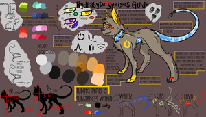 READ BELOW - OUTDATED - Hydrabyte OPEN SPECIES by Calamiiity