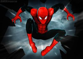 Spider-man by shamserg