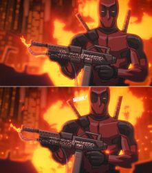 Deadpool Animation in After Effects by RyanLord