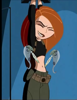 Kim Possible Belly Tickled by hrpadrp