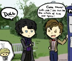 Wholock! :D by GotTheDemonPox