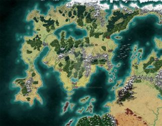 Game Map by stratomunchkin